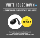 Rakuten.tv: Chromecast + White House Down in HD als LEIHFILM für 22,99€