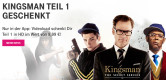 "Telekom Mega Deal: ""Kingsman – The secret Service"" kostenlos erhalten (Digital Download)"