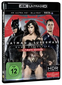 Batman v Superman Dawn of Justice 4K Ultra HD