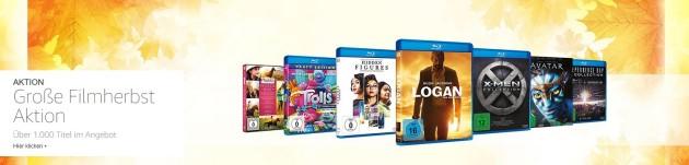 Amazon.de: Große Filmherbst-Aktion – Über 1.000 Titel im Angebot (bis 15.10.17)
