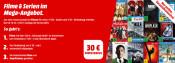 MediaMarkt.de: Filme & Serien im Mega Angebot – Für mindestens 100€ Einkaufen & 30€ Direktabzug erhalten inkl. VSK