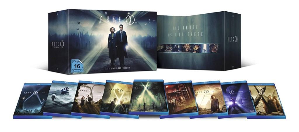 Super Sunday mit Akte X – Staffel 1-9 [Blu-ray] für 69,99€ inkl. VSK
