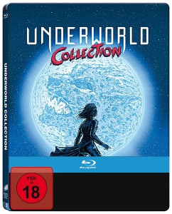 Underworld 1-5 (Limited Steelbook Edition) [Blu-ray]