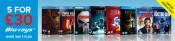 Zoom.co.uk: 5 Blu-rays für 31€ (u.a. einige in 3D und mit dt. Tonspur)