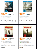 Saturn.de: Schocktober – The Walking Dead Staffel 4 & 5 und The Last Ship Staffel 1 & 2 für je 12,99€ inkl. VSK