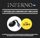 Rakuten.tv: Google Chromecast + Inferno [HD] (Stream) für 22,99€ inkl. VSK