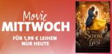 Amazon.de/iTunes: Movie Mittwoch – Die Schöne und das Biest für 1,99€ in HD leihen