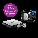 """Aldi Nord/Süd: PlayStation 4 1TB """"GT Sport Limited Edition"""" (inkl. GT Sport und weiteren Extras) für 299€, diverse PS4-Spiele (u.a. Uncharted 4) für je 19,99€"""
