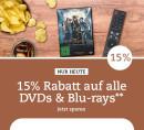 Thalia.de: 15% Rabatt auf alle Filme (nur heute gültig)