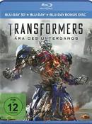Amazon.de: Transformers 4 – Ära des Untergangs [3D Blu-ray] für 5,22€ + VSK