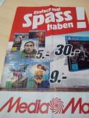 [Lokal] MediaMarkt Großraum Berlin: Spider – Man und Wonder Woman für 9€ und viele weitere Angebote!