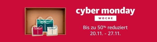 Amazon.de: Blitzangebote – Cyber Monday Woche (22.11.17)