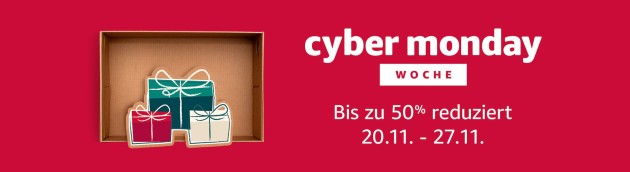 Amazon.de: Blitzangebote – Cyber Monday (27.11.17)