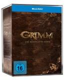 [Vorbestellung] Amazon.de: GRIMM – Die komplette Serie (Staffel 1-6) – Limited Märchenbuch-Edition [Blu-ray] für 99,99€ inkl. VSK
