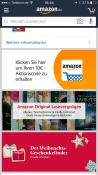 Amazon.de: 10€ Gutschein bei der 1. Anmeldung in der Amazon-App