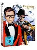 Amazon.de: Kingsman – The Golden Circle Steelbook [Blu-ray] für 15€ + VSK