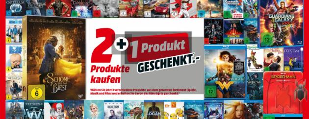 Amazon kontert MediaMarkt.de: Das große MediaMarkt Weihnachts-Geschenkt mit 3 für 2 Aktion für Filmen, Games und Musik (bis 09.12.17)