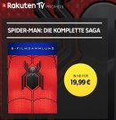 Rakuten.tv: Spider-Man – die komplette Saga (6 Filme in Digital HD als Stream) für 19,99€