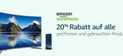 Amazon.de: 20% Extra-Rabatt auf alle Produkte von Amazon Warehouse Deals