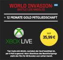 Rakuten.tv: 12 Monate Xbox Live Gold + World Invasion: Battle Los Angeles im HD-Stream für 35,99€