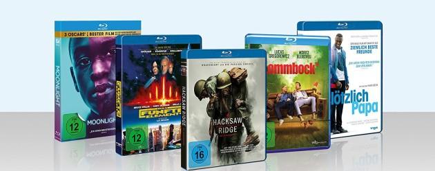 Amazon.de: Neue Aktionen u.a. 3 für 2 Aktion – Blu-ray Highlights von Universum & 5 EUR Sofort Rabatt ab 29€ MBW (bis 10.12.17)