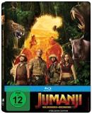 Amazon.de: Jumanji: Willkommen im Dschungel [Limited Steelbook Edition] [Blu-ray] für 9,99€ + VSK