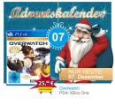 Mueller.de: Türchen Nr. 7 – Overwatch [PS4/XBox One] für 25€