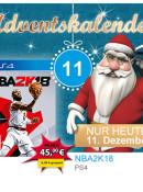 Mueller.de: Türchen Nr. 11 –  NBA2K18 PS4 für 45€