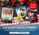 Rebuy.de: 17% Gutschein auf alle Medien