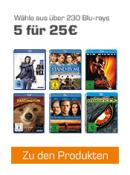 Saturn.de: 5 für 25€ Aktion bis 31.12.2017 [ca.240 BD]