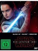 Saturn.de: Star Wars: Episode 8 – Die letzten Jedi (Limited Edition, Steelbook, Blu-ray 3D + Blu-ray) für 13,99€ + VSK