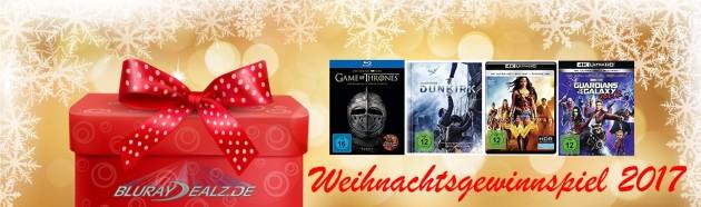 Bluray-Dealz.de: Weihnachtsgewinnspiel 2017 (bis 26.12.17)