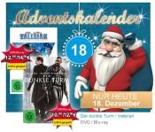 Mueller.de Adventskalender 18.12.: Der dunkle Turm [Blu-ray] für 12€ / Valerian [Blu-ray] für 14€