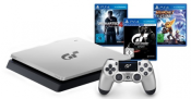 ebay.de: SONY PlayStation 4 PS4 silber 1TB GT Sport Limited Edition + 3 weitere Spiele für 254,99€ inkl. VSK