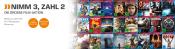 Saturn.de: Nimm 3, Zahl 2 Aktion. Wähle aus über 200 Pro7 Blockbuster Blu-rays & DVDs (vom 04.12.-31.12.2017)