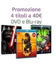 Amazon.it: 4x DVD oder Blu-ray oder Ultra HD Blu-ray für 40€ + VSK