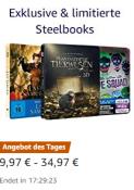Amazon.de: Tagesangebot – Bis zu 44% reduziert: Exklusive & limitierte Blu-ray Steelbooks