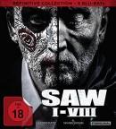 Amazon.de: SAW I-VIII / Definitive Collection [Blu-ray] für 33,99€ inkl. VSK
