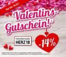 Weltbild.de: 14% Rabatt-Gutschein zum Valentinstag – Weltbild liebt Sie!
