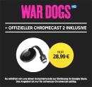 Rakuten.tv: Chromecast 2 + War Dogs in HD als LEIHFILM für 28,99€