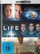 Amazon.de: Arrival / Life / Passengers (4K Ultra HD) für 44,93€ inkl. VSK