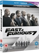 Zoom.co.uk: Fast and Furious 7 Extended Edition [Blu-ray] für 3,97€ inkl. VSK