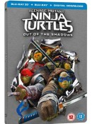 Zoom.co.uk: Teenage Mutant Ninja Turtles 2 Limited Steelbook [3D + 2D Blu-ray & UV Code) für 8,20€ inkl. VSK