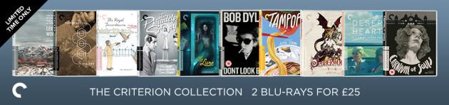 Zoom.co.uk: Criterion Blu-rays für je ca. 12.70€