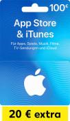Kaufland.de: 20€ extra auf eine 100€ iTunes Geschenkkarte