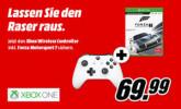 MediaMarkt.de: MICROSOFT Xbox Wireless Controller weiß oder schwarz + Forza Motorsport 7 – Standard Edition für 69,99€ + VSK