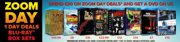 Zoom.co.uk: Zoom-Day mit etlichen Angeboten z.B. Mummy/Wolfman/Dracula Complete Legacy Collection für jeweils 15 Pfund
