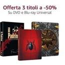 Amazon.it: Neue Aktionen z.B. Universal ab 3 Titel 50% Rabatt + VSK