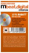 Mueller.de: 15% Rabatt auf alle CD's bis 08.03.18
