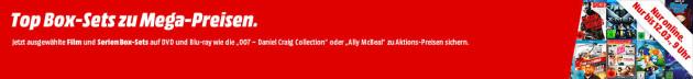 MediaMarkt.de: Top-Box-Aktion ab 6€ inkl. VSK z.B. Chuck-Norris Box Uncut [Blu-ray] 9€ & Homeland Staffel 1 [Blu-ray] 9€